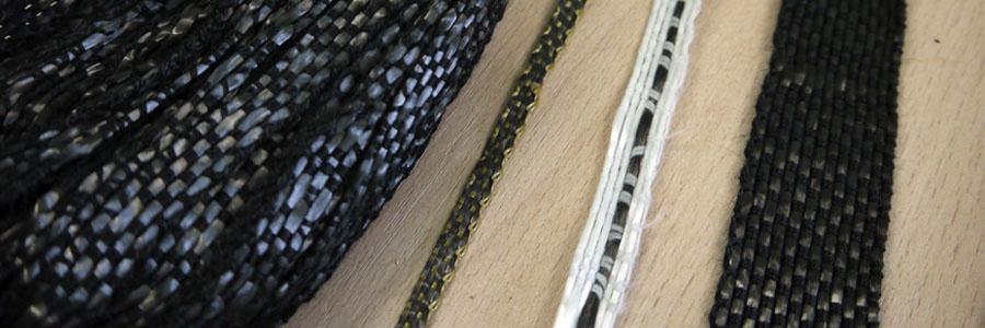 Лента и шнуры углеродные тканые однонаправленные и комбинированные